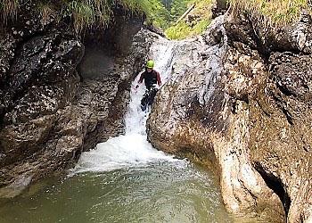 Klettergurt Canyoning : Canyoning in bayern und Österreich outdoor center baumgarten