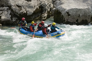 Exklusive Wildwasser Rafting Touren in Slowenien