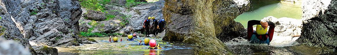 Canyoning und Rafting Outdoor Center Baumgarten